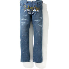 TYPE-05 DRIP DENIM PANTS MENS