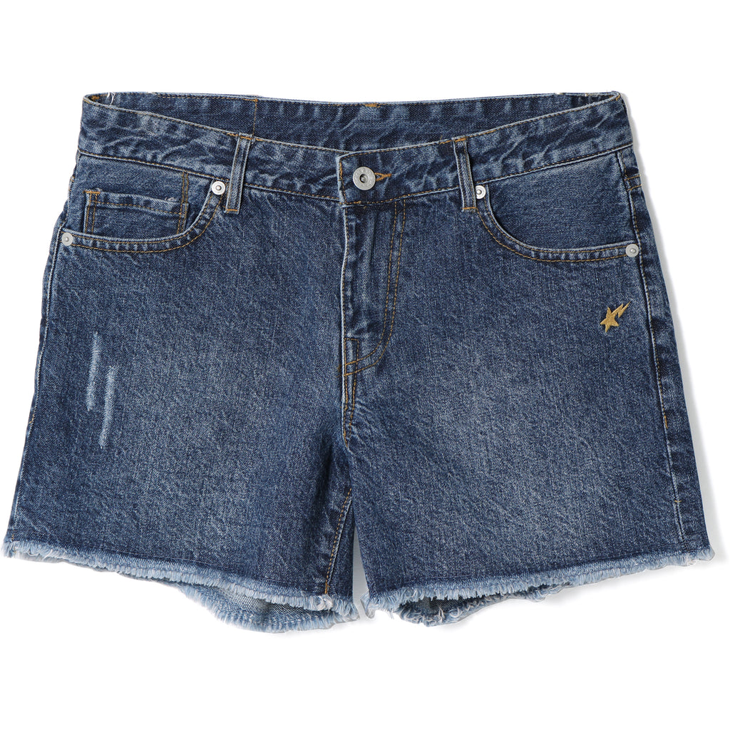 APE HEAD DENIM SHORTS LADIES