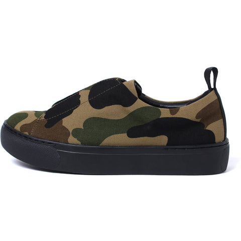 1ST CAMO SLIP ON LADIES