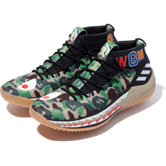 BAPE ADIDAS DAME4 YOUTH