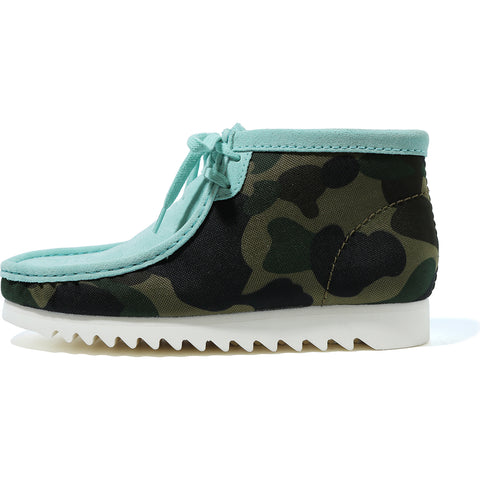 A BATHING APE X CLARKS WALLABEE BOOTS M2