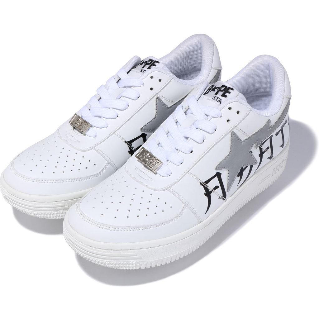 LETTERED BAPE STA LOW M2 MENS