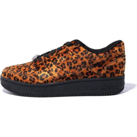 LEOPARD BAPE STA LOW M2 MENS