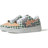 GINGHAM CHECK MULTI PATTERN BAPE STA LOW LADIES