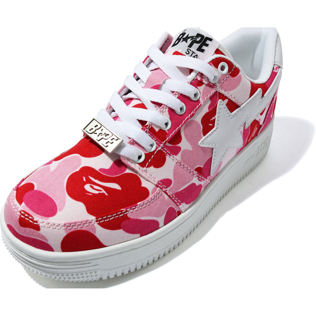 ABC CAMO BAPE STA LOW LADIES