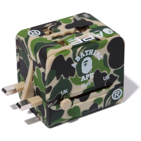 GLOW IN THE DARK ABC TRAVEL AC ADAPTER