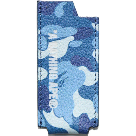 BAPE® CAMO LEATHER LIGHTER CASE