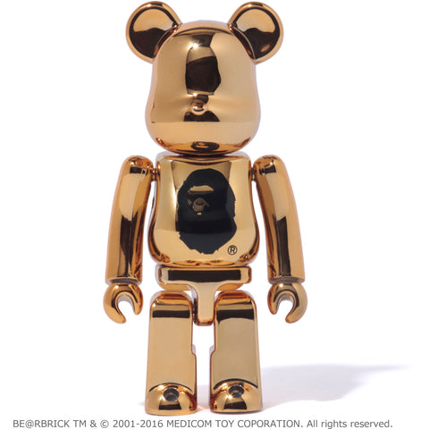 NW23 MEDICOMTOY 100% GOLD BE@RBRICK