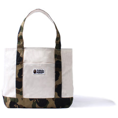 1ST CAMO CANVAS TOTE BAG /AP