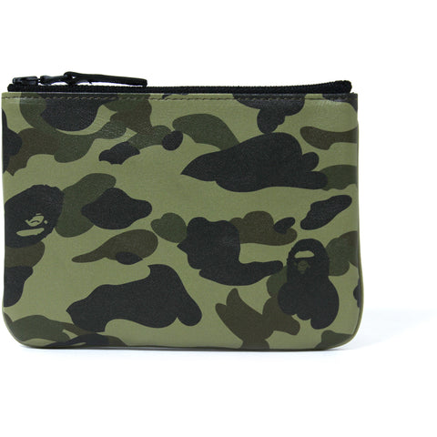 1ST CAMO LEATHER WALLET(S) MENS