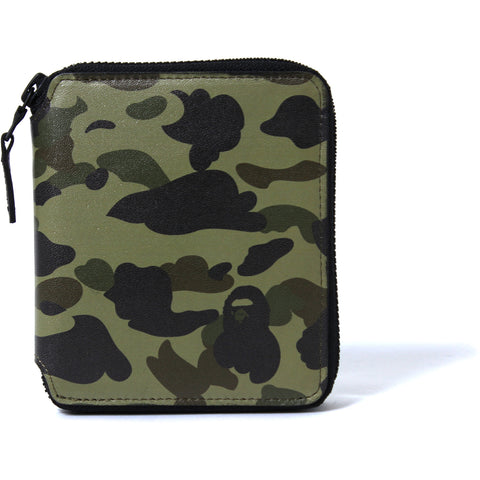 1ST CAMO LEATHER WALLET(M) MENS