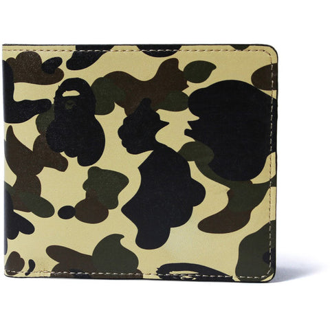 1ST CAMO LEATHER WALLET M