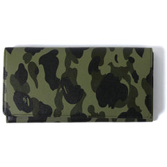 1ST CAMO LEATHER LONG WALLET M