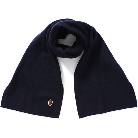 ONE POINT KNIT SCARF M