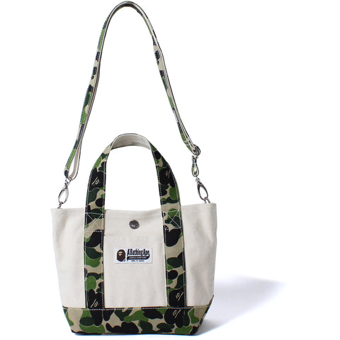 ABC 2WAY CANVAS TOTE BAG S LADIES