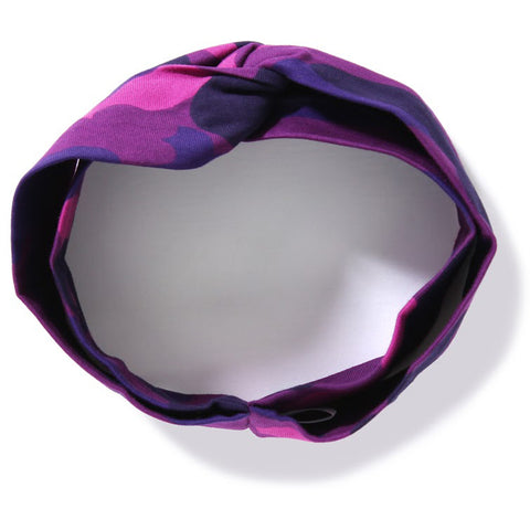 COLOR CAMO HAIR BAND L