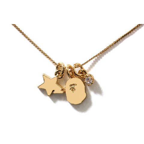 APE HEAD & STA NECKLACE L