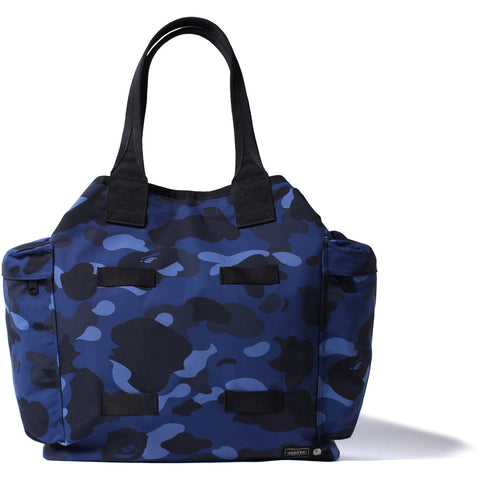 PORTER COLOR CAMO MILITARY TOTE BAG