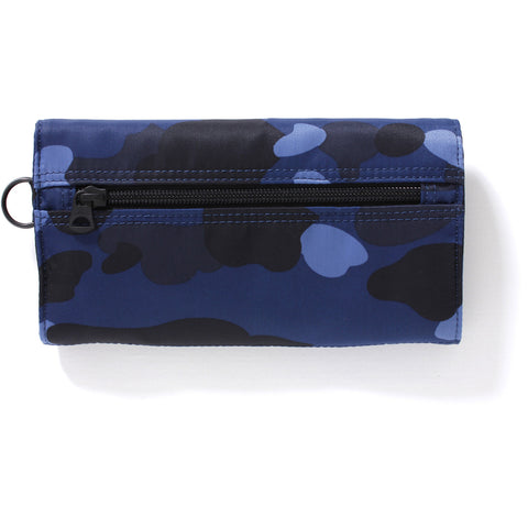 PORTER COLOR CAMO LONG WALLET