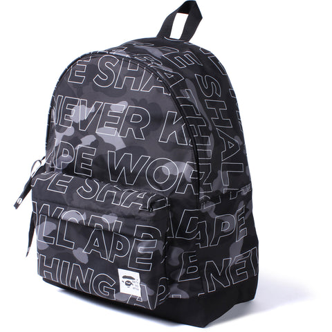 TEXT COLOR CAMO DAY PACK MENS