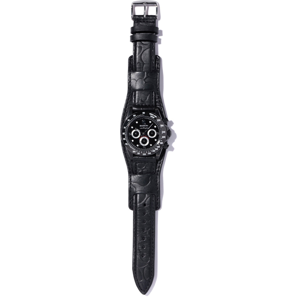 TYPE 3 BAPEX LEATHER BELT MENS