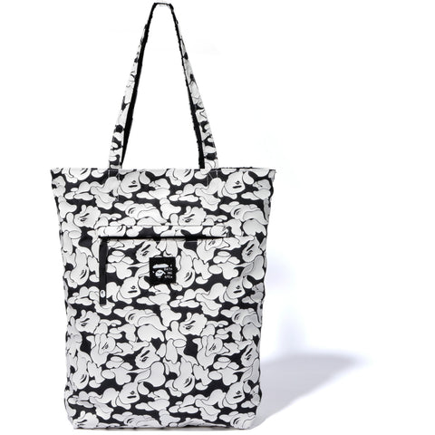 RUBBER SOLID CAMO REVERSIBLE TOTE BAG LADIES