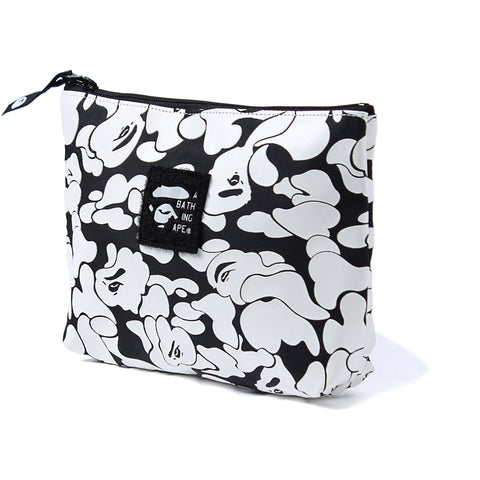 RUBBER SOLID CAMO POUCH LADIES