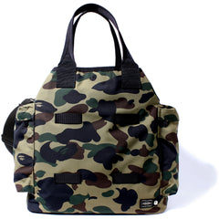 PORTER 1ST CAMO MILITARY TOTE BAG MENS