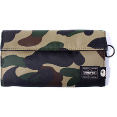 PORTER 1ST CAMO LONG WALLET MENS