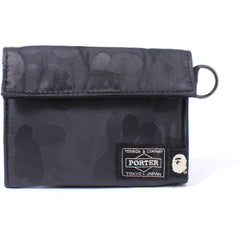 PORTER ABC POLYESTER JACQUARD WALLET MENS