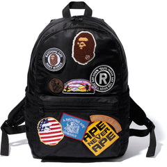 BAPE PATCH DAY PACK MENS