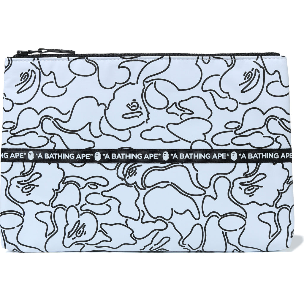 ABC NEON CAMO TARPOULIN CLUTCH MENS