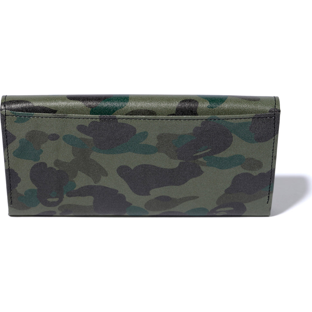 1ST CAMO ATS LEATHER LONG WALLET MENS