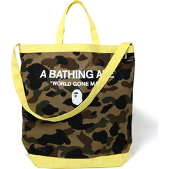 1ST CAMO SHOULDER TOTE BAG MENS