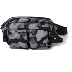 PORTER REFLECTION CAMO WAIST BAG MENS