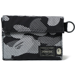 PORTER REFLECTION CAMO WALLET MENS