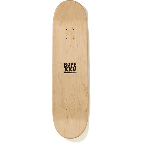 BAPE XXV CITIES CAMO SKATEBOARD MENS