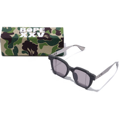BAPE XXV CITIES CAMO SUNGLASSES MENS BLACK