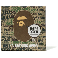BAPE XXV JAPANESE PAPER PANEL MENS