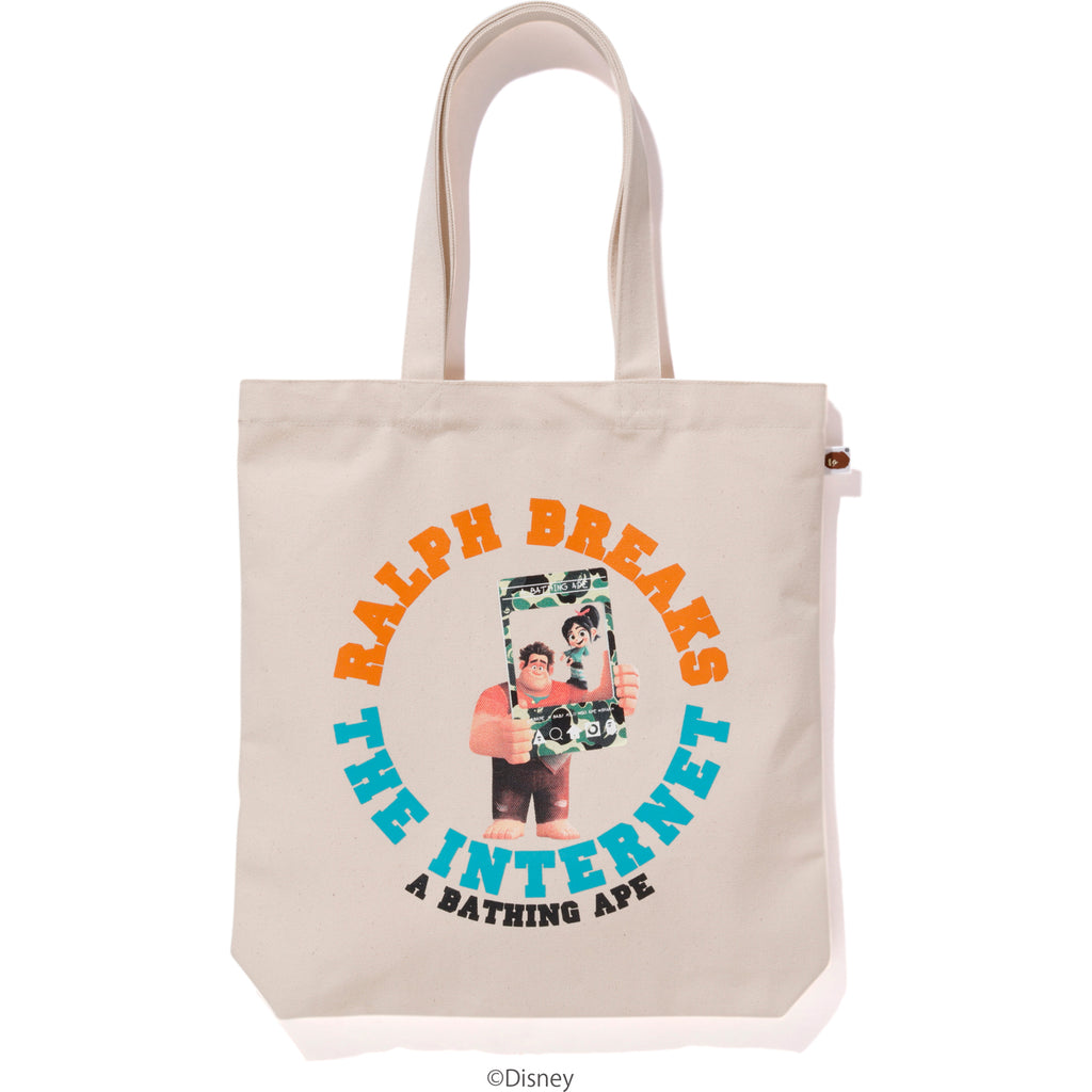 RALPH BREAKS THE INTERNET TOTE BAG MENS