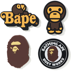 A BATHING APE MAGNET SET MENS