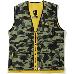 1ST CAMO BAPE 2LAYER REVERSIBLE UTILITY MENS