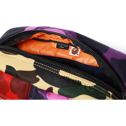 PORTER MIX CAMO WAIST BAG MENS