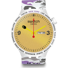 BAPE X SWATCH BIG BOLD NEW YORK