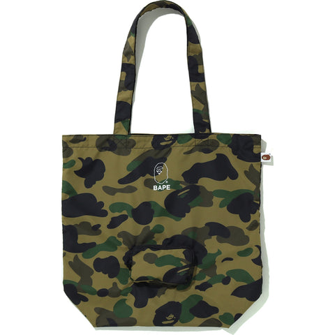 1ST CAMO PACKABLE TOTE BAG MENS