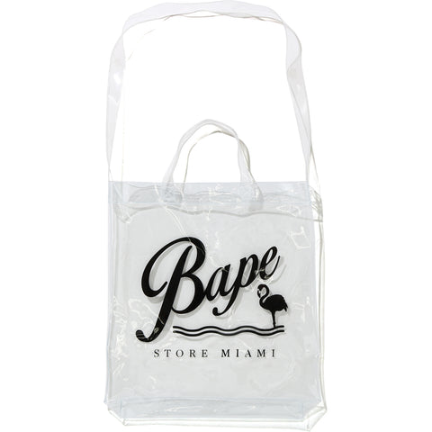BAPE STORE MIAMI SHOULDER TOTE BAG MENS