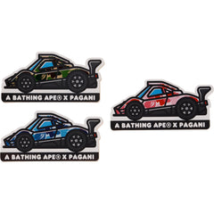 BAPE X PAGANI STICKER SET MENS
