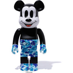 MICKEY90TH X BAPE BE@RBRICK 1000% MENS