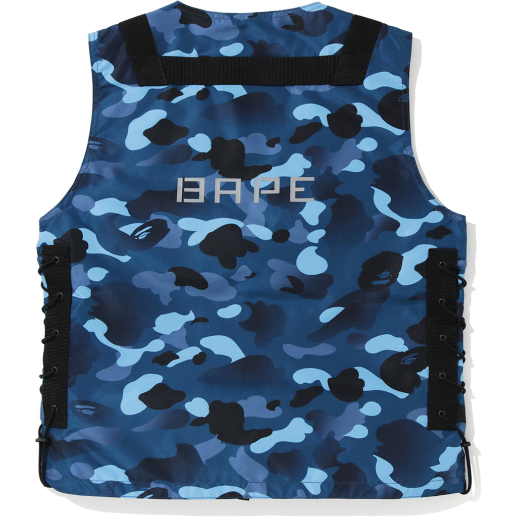 GRADATION CAMO LACE UP VEST MENS