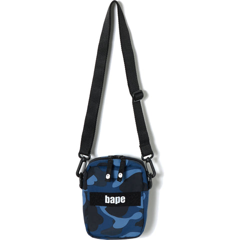 COLOR CAMO MILITARY SHOULDER BAG MENS